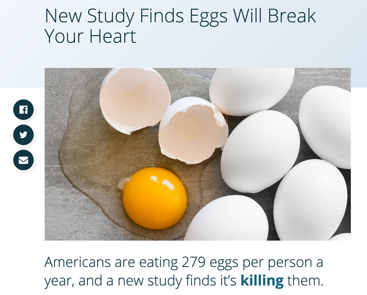 Revisiting Eggs and Dietary Cholesterol